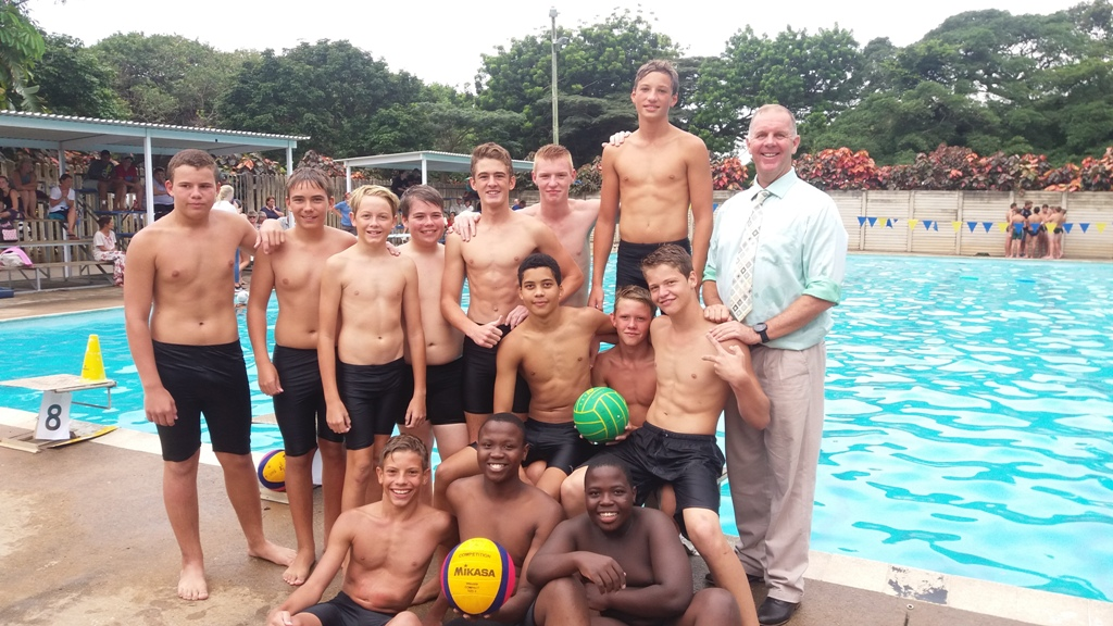 A cool win for Scottburgh High Water polo team.