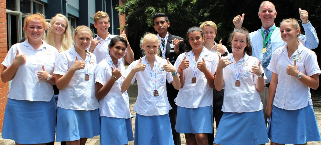 Well done to our Midmar Mile teams from Scottburgh High.